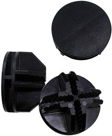 VOSAREA 20 Connecteurs abs en cube de fil m/étallique pour /étag/ères de rangement en cube de fil et fermoir /à boucle clip organisateur modulaire noir