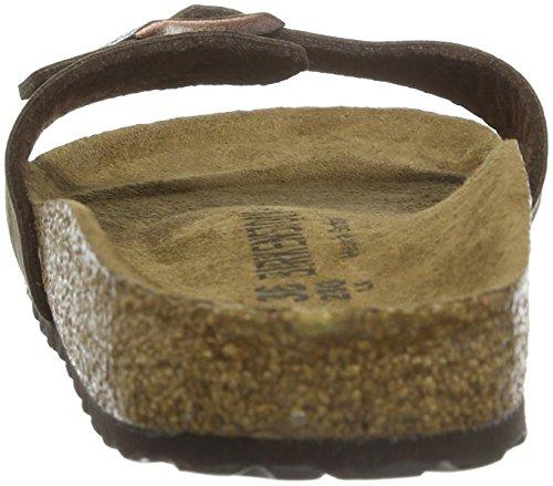 Birkenstock Madrid Vegan - Mules Unisex adulto Marrón - Braun (Cocoa Brown)