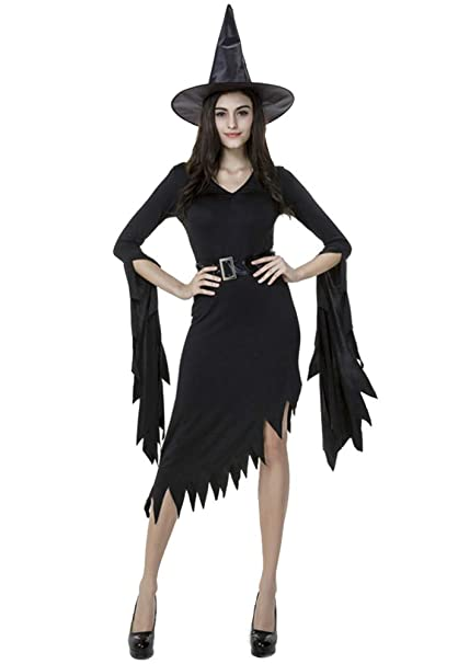 Amazon.com: Tutu Dreams - Disfraz de bruja gótica para mujer ...