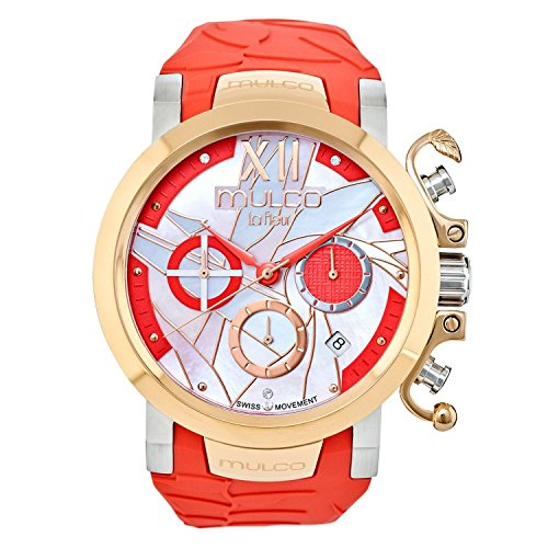 Mulco Le Fleur MW3-14009-533 Ave del Paraiso Collection Red Band