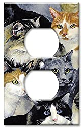 Art Plates - Just Cats! Switch Plate - Outlet Cover