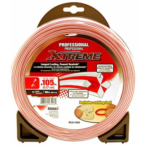 Arnold Xtreme .105-Inch x 165-Foot Professional Grade String Trimmer Line by Arnold