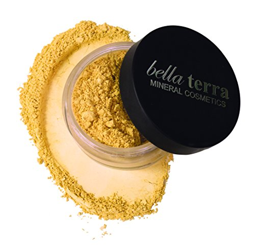 Bella Terra Mineral Powder Foundation | Long-Lasting All-Day Wear | Buildable Sheer to Full Coverage - Matte | Sensitive Skin Approved | Natural SPF 15 (Ultra) 9 grams