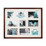 """Kiera Grace PH43255-1 Contempo Picture Frame,  16x20"""" (9-4x6""""), Brown"""