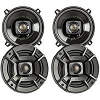 4x Polk Audio DB522 5.25-Inch 300-Watt 2-Way Speakers