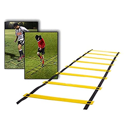 CAMTOA 9-rung Agility Ladder Speed ladder Training ladder for Soccer, Speed, Football Fitness Feet Training with
