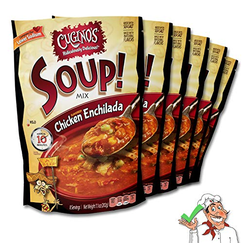 French Onion Soup Chicken - Cugino's Chicken Enchilada (Pack of 6)