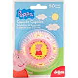 Peppa Pig 339009 Pack of 50 Paper Cupcake Cases, Pink 5 x 5 x 3 cm