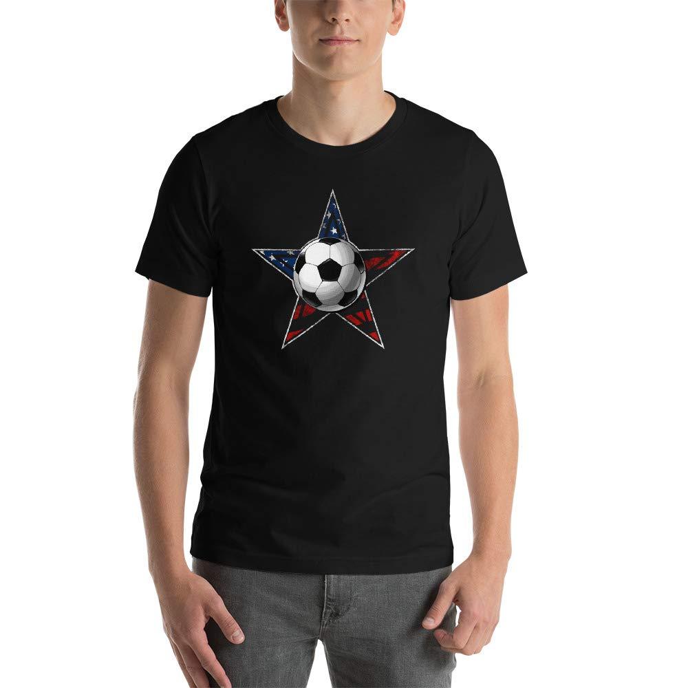 Alpha5StarDeals Soccer Star Short-Sleeve Unisex T-Shirt
