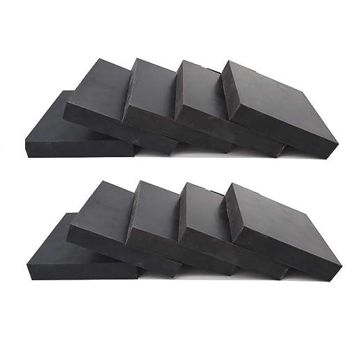 SOFIALXC - Placas de Goma (Base para Lavadora y antivibraciones ...