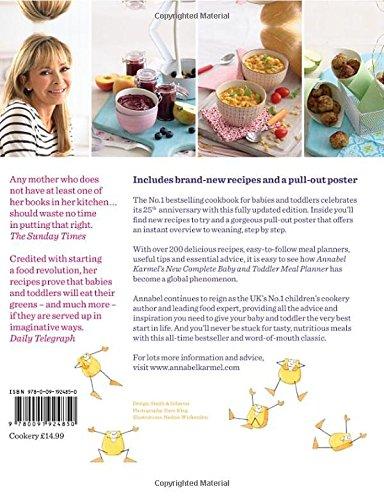 Annabel karmels new complete baby toddler meal planner 25th annabel karmels new complete baby toddler meal planner 25th anniversary edition amazon annabel karmel 9780091924850 books forumfinder Images