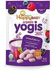 Happy Baby Organic Yogis Snacks, Mixed Berries, 28g
