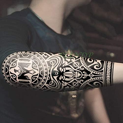 Yyoutop Impermeable Etiqueta Engomada del Tatuaje Temporal Peces ...