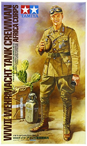 Used, Tamiya 1:16 WWII Wehrmacht Tank Crewman Africa Corps for sale  Delivered anywhere in USA