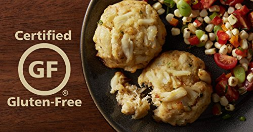(3 Oz - Gluten Free Crab Cakes (12 Crab Cakes total) by Handy Seafood)
