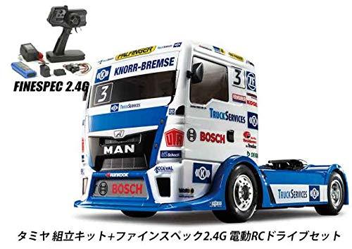 タミヤ RCC 1/14 HAHN RACING MAN TGS (TT-01E) 組立キット+2.4G 電動ドライブセット 品番45053-58632 B07RLK47XF