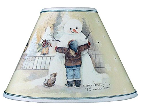 Shade Chimney (Snowman Love Chimney Shade,12