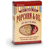West Bend 3-Pack Theater Style Popcorn and Oil