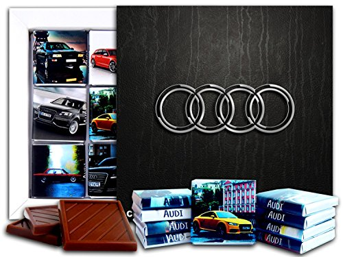 DA CHOCOLATE Candy Souvenir AUDI Chocolate Gift Set 5x5in 1 box (Logo) (Audi Set A8)