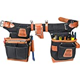Occidental Leather 9850 Adjust-to-FitTM Fat LipTM Tool Bag Set - Black