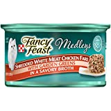 Purina Fancy Feast Medleys Shredded Chicken Wet Cat Food 24 cans