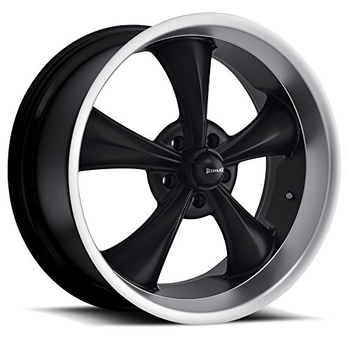 Ridler 695 Wheel with Machined Finish (22x9/5x115, 15mm Offset) (Magnum Dodge 22 Rims)