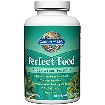 Garden Of Life Whole Food Vegetable Supplement Perfect Food Green Superfood