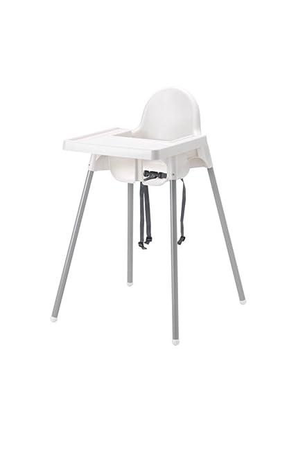 Amazon.com: IKEA ANTILOP Trona con cinturón de seguridad ...