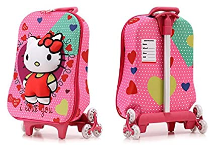 9f4d419804c0 Image Unavailable. Image not available for. Colour  DI GRAZIA Hello Kitty  Hardshell Travel and Trolley Luggage Suitcase ...