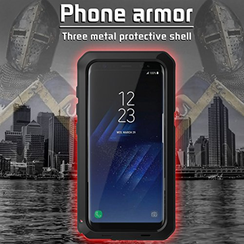 MRSMR Phone Case Cover, Ultra Protective Case,Dust Proof Waterproof Shockproof Heavy Duty Protective Carrying Case for Samsung Galaxy S8/S8 Plus (No Glass Screen)