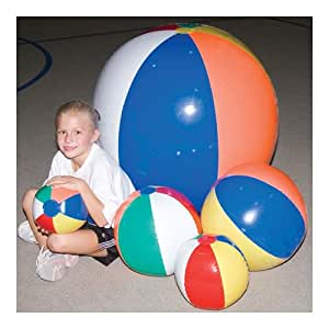 Amazon.com: 24 inch pelota hinchable de playa: Sports & Outdoors