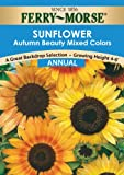 Ferry-Morse  Sunflower Autumn Beauty Mixed Colors Seeds (Annual)