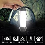 Dreamyth Waterproof LED Camping Light with 5 Modes USB Rechargeable Emergency light