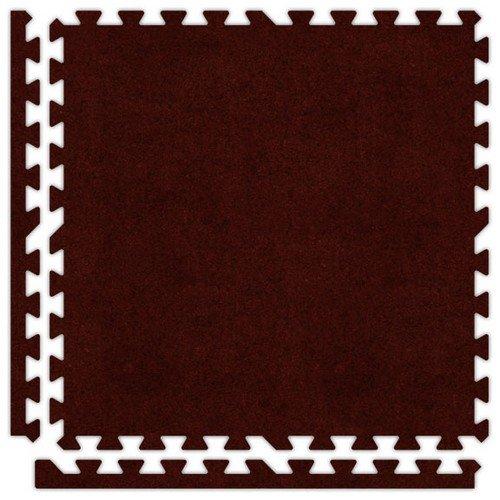 (Alessco SCBY0610 Premium Softcarpets Tile Set, 6' x 10',)