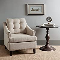 Charleston Tufted Club Chair Sand See below