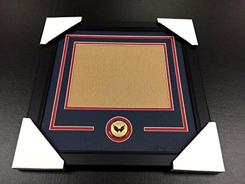 WASHINGTON CAPITALS Medallion Frame Kit 8x10 Photo Double Mat - Outlets Washington