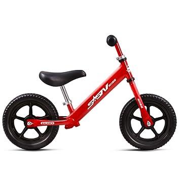 shuhong Bicicleta Sin Pedales para Niños Juego Completo De Equipo Protector Rueda De EVA No Inflable 2-6 Años / 80-120cm,Red: Amazon.es: Hogar
