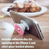 PopSockets 101257 - Soporte telescópico para Smartphones y tabletas, Estilo Pink Donut: Amazon.es: Electrónica
