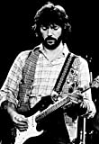 Eric Clapton Poster, Live in Concert, Singer, Guitarist, Rock Musician