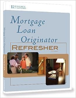 Book Mortgage Loan Originator - Refresher, 2nd edition