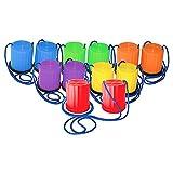 Champion Sports Plastic Platform Stilts in Multicolor