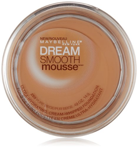 Maybelline New York Dream Smooth Mousse Foundation, Pure Beige, 0.49 (Pure Mousse)