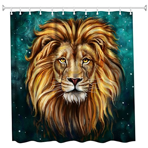 Qiyi Shower Curtain Waterproof/Repellent& Antibacterial,
