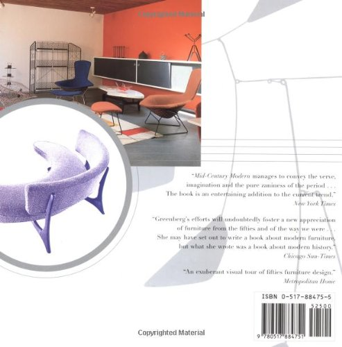 mid century modern furniture of the 1950s cara greenberg 9780517884751 amazoncom books - Mid Century Modern Furniture Of The 1950s