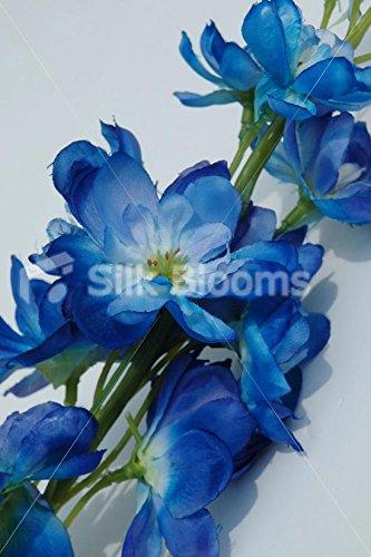 Amazon artificial dark blue delphiniums silk dark blue artificial dark blue delphiniums silk dark blue delphiniums mightylinksfo