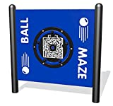 Sports Play Equipment 922-217-F Ball Maze Interactive Free-Standing Panel
