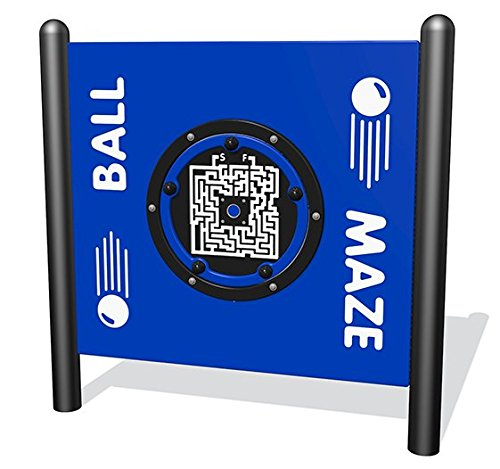 Sports Play Equipment 922-217-F Ball Maze Interactive Free-Standing Panel by Sports Play Equipment