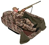 Wildfowler Big Man Layout Blind-Mossy Oak Shadow Grass Blades, Low Profile
