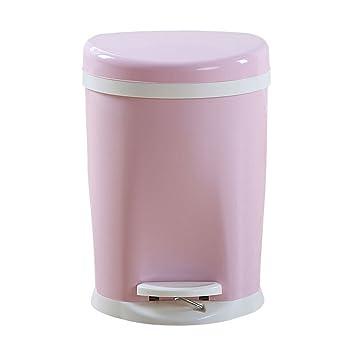 Trash Can Poubelle Cuisine Poubelle En Plastique Cuisine Salon Salle De  Bain Maison (Couleur :