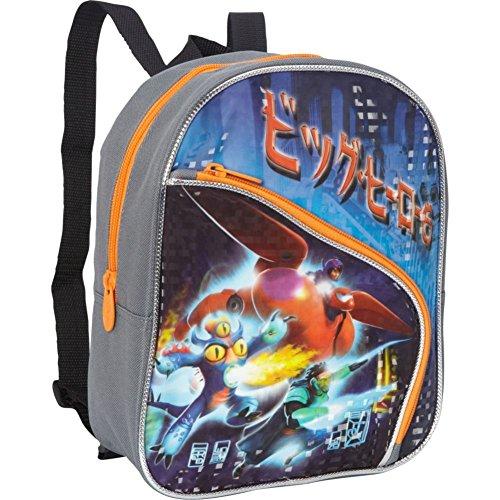 [해외]Disney Big Hero 6 Mini Backpack (Grey) / Disney Big Hero 6 Mini Backpack (Grey)